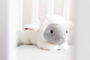 ZAZU Liz the Lamb soft toy Comforter
