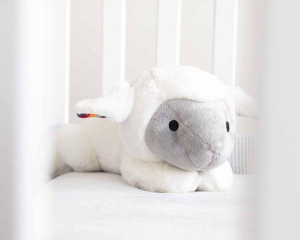 ZAZU Liz the Lamb soft toy Comforter