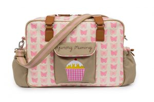 Yummy Mummy Bag Pink Butterfly