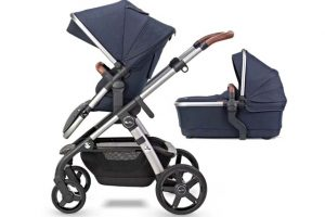 Silver Cross Wave Travel System - Indigo
