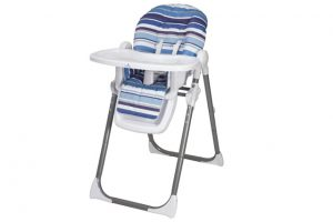 Babylo Hi LO Highchair - Blue