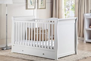 Babylo Denver Sleigh Cot Bed