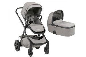 Nuna Demi Grow Travel System Twin Frost
