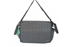 BiBii Messenger Bag - Circles