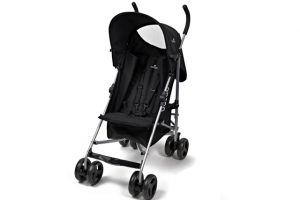 Babylo Bolt Stroller Black