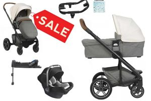 Nuna Mixx Travel System Birch Sale