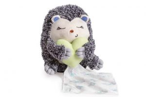 Summer Little Heartbeat Soother - Hedgehog 1