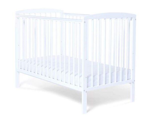 Baby Elegance Starlight Cot - White