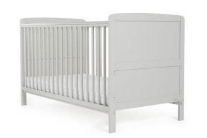 Baby Elegance Travis Cot Bed - Grey