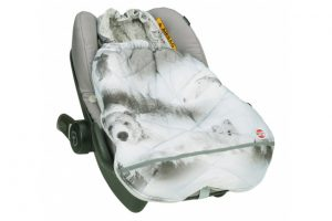 Lodger Mini-Bunker Footmuff - Mist