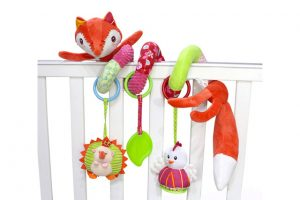 Baby Bow For Cot Winder Toy