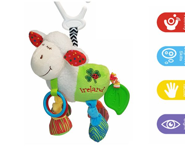 Baby Bow Sheep Activity Toy