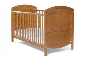 Baby Elegance Walt Cot Bed - Pine