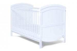 Baby Elegance Walt Cot Bed - White