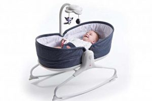 Tiny Love Rocker Napper - Denim 1