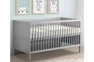 Babylo Westland Cot Bed - Grey