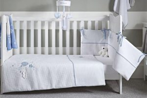 Clair de Lune 2pc Bedding Set - Over The Moon - Blue