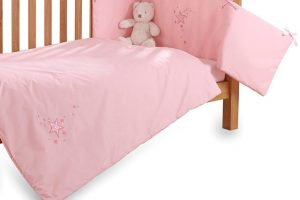 Clair de Lune 2pc Bedding Set - Starburst - Pink