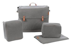 Modern Changing Bag - Concrete Grey