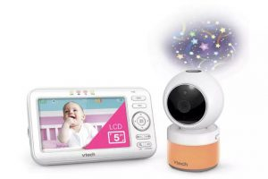Vtech 5463 Pan & Tilt Video Monitor with Night Light 7 Projection