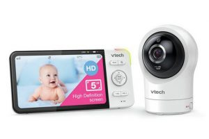 Vtech 5764 Smart Video 5 Inch HD Baby Monitor